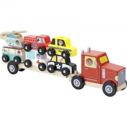 Lastwagen aus Holz Vilac