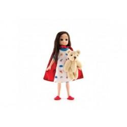 Puppe - Lottie - Heldin im Krankenbett