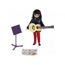 Puppe - Lottie - Musik-Liebhaberin mit Gitarre