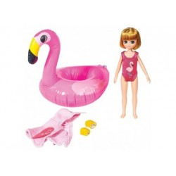 Puppe - Lottie - Pool-Party