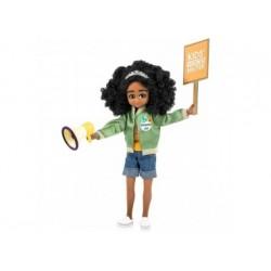 Puppe - Lottie - Powergirl mit Megaphon