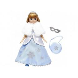 Puppe - Lottie Schneekönigin im blauen Glitzerkleid