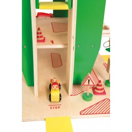 Spielgarage Holz