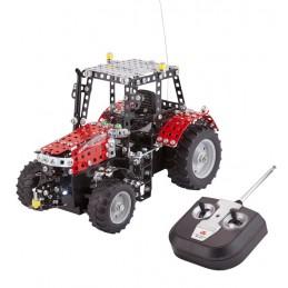 Metallbaukasten Traktor Massey Ferguson MF 5430 mit Fernsteuerung