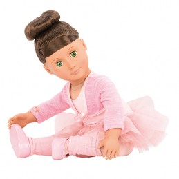 Deluxe Puppe - Our Generation - Sydney Lee 46 cm Ballerina