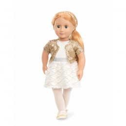 Puppe Our Generation - Holiday Hope 46 cm mit Glitzer Outfit