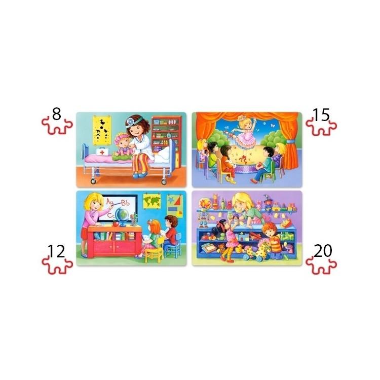 Puzzle für Kinder - Beruf
