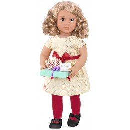 Puppe Our Generation Deluxe Weihnachtspuppe Noelle 46 cm
