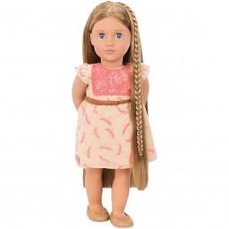 Puppe lange Haare
