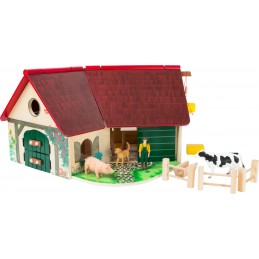 Bauernhof aus Holz - Woodfriends Spielbauernhof
