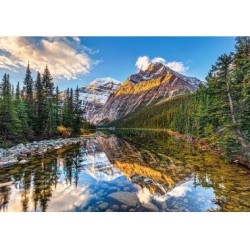 Puzzle 500 Teile - Morning Sunlight In The Rockies