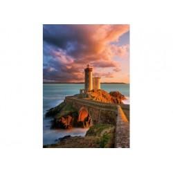 Puzzle 500 Teile - Phare Petit Minou, France
