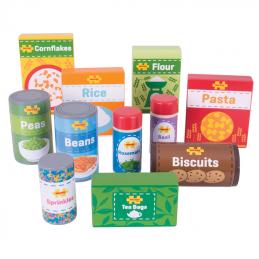 Spielküche Zubehör - Lebensmittel Holz Bigjigs Toys