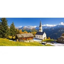 Puzzle 600 Teile - Church Marterle, Carinthia, Austria