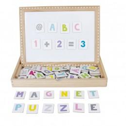 Magnet-Buchstaben und Zahlen für Kinder - JABADABADO