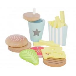 Spielküche Zubehör - Burger set - JABADABADO