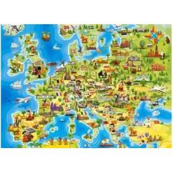 Puzzle Europakarte