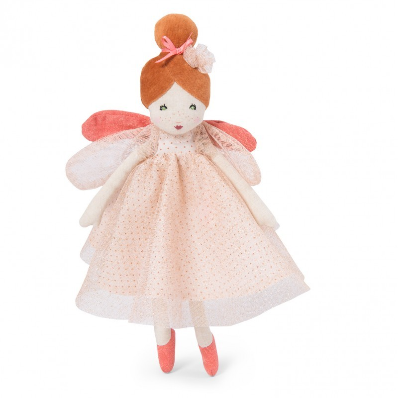 Stoffpuppe - Kleine Fee rosa - Moulin Roty