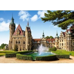 Puzzle, 1500 Teile, Schloss Moschen