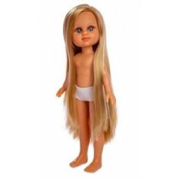 Puppe mit langen Haaren - Berjuan 35 cm.