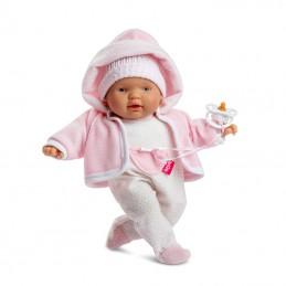 Puppe Berjuan mit Puppenkleidung