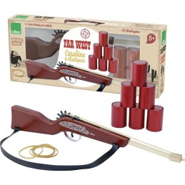 Gewehr aus Holz mit Elastikgummi - Vilac