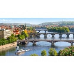 Puzzle 4000 Teile - Brücken in Prag