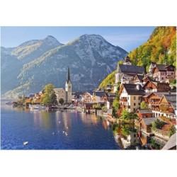 Puzzle 500 Teile - Hallstatt, Österreich