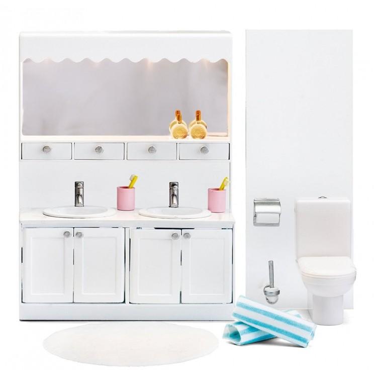 Lundby - Badezimmer für Puppenhaus