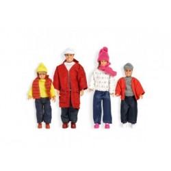 Puppenhaus Zubehör - Puppenfamilie