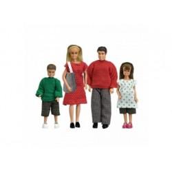 Puppenfamilie für Puppenhaus