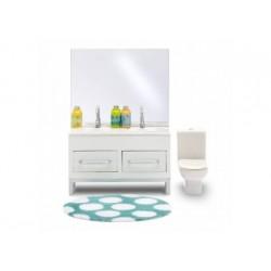 Lundby: Badezimmer Set