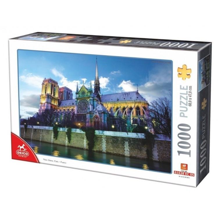 Puzzle 1000 Teile - Notre Dame de Paris