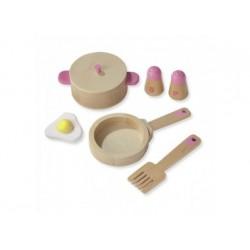 Kinderküchen-Set aus Holz von Howa