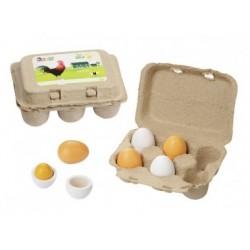 Eierset aus Holz von Howa