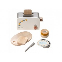 Howa Toaster aus Holz incl. 6 tlg. Zubehör