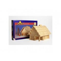 Holzbaukasten - Hütte 2