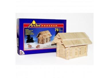 Holzbaukasten - Hirtenhütte