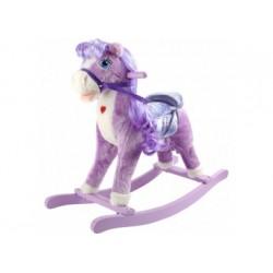 Schaukelpferd - Lila Pony