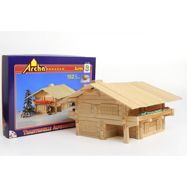 Holzbaukasten - Alpen 3