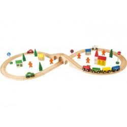 Holzeisenbahn - Acht