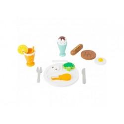 Spiel-Set Mittagspause aus Holz