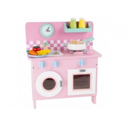 Spielküche - Rosali mit Zubehör